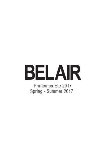 Belair - LOOKBOOK Collection Printemps-Été 2017