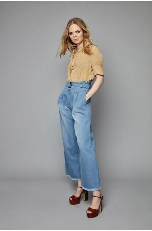 Pantalon Pistache - Belair Paris