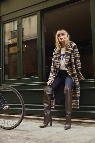Manteau MATIAS - Tee-shirt TAILA - Pantalon PARISIENNE - Belair - Automne-Hiver 2019