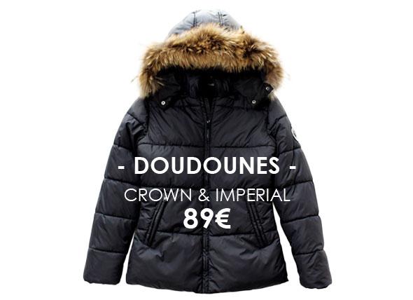 Belair, Doudounes collector Crown et Imperial à 89€