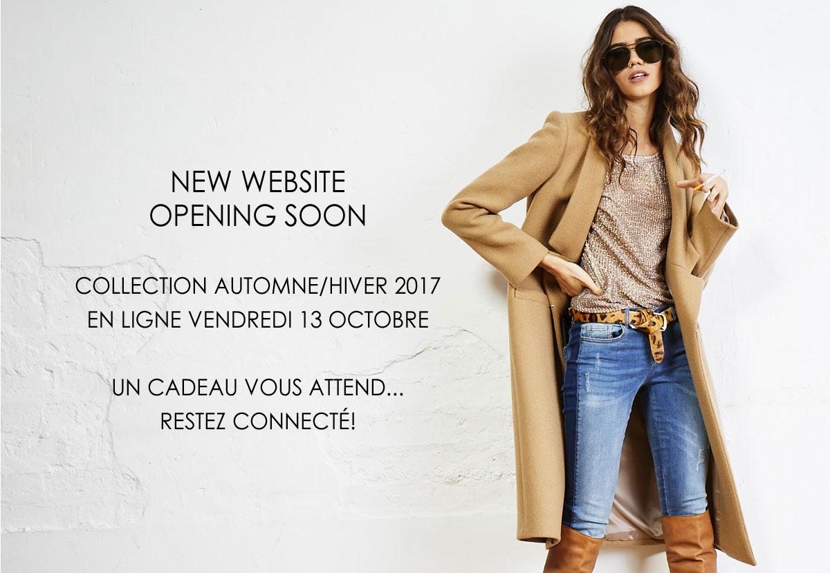 Belair, collection Automne-hiver 2017/18 bientôt disponible en ligne.